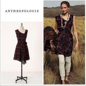 Edme & Esyllte Perthshire Plaid Wool Blend Dress